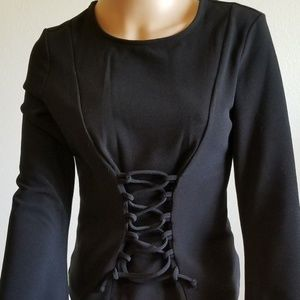 long sleeve blouse size M New no tags